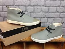 GENERIC SURPLUS MENS UK 9 GREY CHUKKA TRAINERS RRP £65