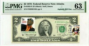 $2 DOLLARS 1976 FIRST DAY STAMP CANCEL RAY CHARLES MUSIC ICONS VALUE $3000