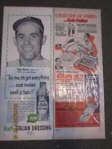 1956 Yogi Berra Italian Dressing Kraft ad