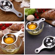 2pcs Stainless Egg Yolk Seperator Separator Kitchen Cooking Gadget Sieve Tools