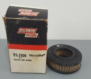 1 New NOS 1966-74 Chevrolet GMC Truck Air Filter Element Replaces 8875051