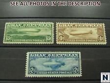 NobleSpirit No Reserve (Ts4/A) Wonderful Us Bob C13-C15 Mng Zeppelin Set =$1,060