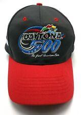 DAYTONA 500 / NASCAR 2002 gray / red adjustable cap / hat