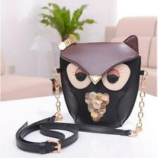 Owl Satchel Messenger Girl Handbag Classic Purse Women Shoulder Bag