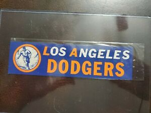 Vintage 1950s Los Angeles Dodgers Baseball Sticker- NOS