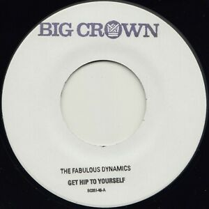 """Limited Press Hand Stamped  - Fabulous Dynamics """"Get Hip To Yourself """" Big Crown"""