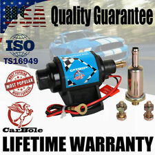 12V 4-7 PSI Universal External Electric Fuel Pump 35 GPH For Carburetor Gasoline