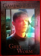 GAME OF THRONES - GREY WORM - Season 4 - FOIL PARALLEL Card #71