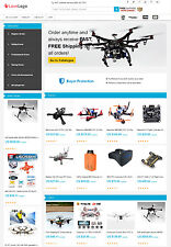 Drones Store - AliExpress Affiliate Website + Free Hosting