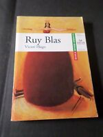 LIVRE DE POCHE RUY BLAS, VICTOR HUGO, HATIER POCHE n. 21, CLASSIQUES