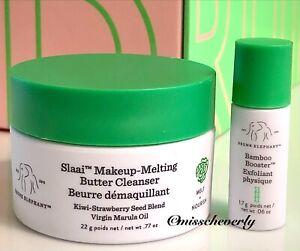 DRUNK ELEPHANT Slaai Makeup-Melting Butter Cleanser 22g + Bamboo Booster 1.7g