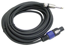 """New Pyle PPSJ50 50ft. 12 Gauge Speaker Cable W/ Connector to 1/4"""""""