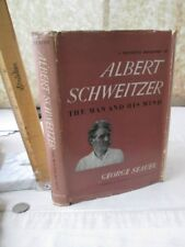 ALBERT SCHWEITZER,The Man & His Mind,1947,George SEAVER,Illustrated, DJ