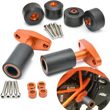 CNC Frame Sliders Crash Protector Kit For KTM 125 200 Duke 250 Duke 390 Duke