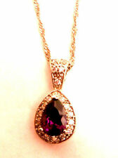 Unbranded Pear Amethyst Costume Necklaces & Pendants