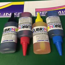 4 X 100ML Botellas de Tinta De Recarga Epson Workforce Premium Impresoras Stylus Photo Home