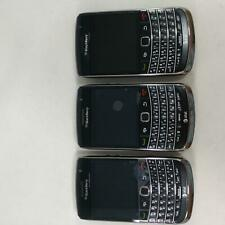 LOT of 3 AT&T Blackberry 9700 cell phones, LOT# 484
