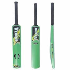 New Hard Plastic Cricket Bat with Logo (Full Size) - Set of 1 Nm