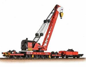 Bachmann 38-803 Ransomes & Rapier 45T Steam Breakdown Crane BR Departmental Red
