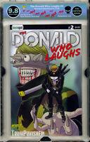 🔥🔥🔥 Donald Who Laughs #2 EGS 9.8 not CGC TRUMP batman joker harley punchline