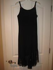 ALESSIA BOUTIQUE Black Formal Dressy Dress Junior Size 16