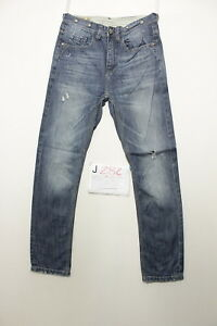 denimite antiform Boyfriend jeans usato (Cod.J282) Tg.42 W28 L32 vintage