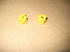 2 used Roomba Yellow Bushings  Brush End Caps Bearings 405 4230 415 400 4210 440