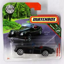 MATCHBOX 2018 '56 JAGUAR XK140N ROADSTERGREEN MBX17/20 NEW ON SHORT   CARD