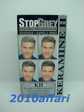 STOP GREY KERAMINE H - LOZIONE PROGRESSIVA SCURISCE I CAPELLI GRIGI - 125 ML
