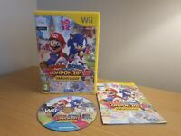 NINTENDO Wii - MARIO & SONIC AT THE LONDON 2012 OLYMPIC GAMES - FREE P&P