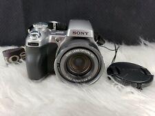 Sony Cyber-shot DSC-H1 5.0MP Digital Camera - Silver