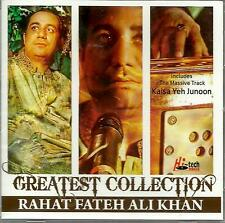 RAHAT FATEH ALI KHAN - GREATEST COLLECTION - NEW ORIGINAL CD SONGS