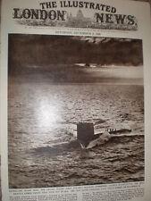 Photo article USS George Washington USA 1st Polaris submarine 1960