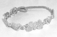 CRUCIANI BRACELET Grey Butterfly Heart Clover Universo C Love Luck >NEW<