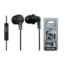 Panasonic RP-TCM120K In-Ear Earbud Smart Phone Control Headphones RPTCM120 Black
