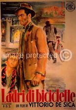 Ladri di Biciclette Bicycle Thieves Vintage Poster