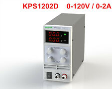 Mini Adjustable Switch DC Power Supply KPS1202D Output 0-120V 0-2A AC110-220V