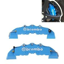 2pcs/set Blue Brembo 3D Style Rear Universal Disc Car Brake Caliper Covers
