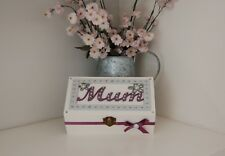 Mum Gift Keepsake/ Jewelry/ Trinket Box Gift Mum Birthday Occasion Wedding