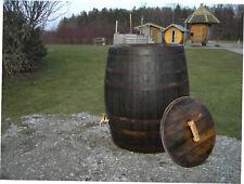 gebrauchtes Whiskyfaß Regentonne Wasserfass 500L Holzfaß Gartenfaß Eichenfaß Faß