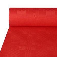 50m Papiertischdecke Damasttischdecke Tischdecke rot