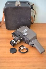 Vintage Sekonic Zoom 8mm Movie Camera Leather case Japan PT4