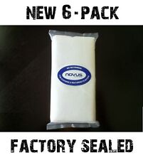 6 NOVUS Plastic Polish Cleaning Mates Polishing Towels