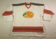 Bass Pro Shops #72 Hockey Jersey XXL White Black Red Sewn made in US long sleeve