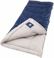 """Single Person Brazos Sleeping Bag 75""""x 33"""" Warm Weather, +20°F & Above Polyester"""