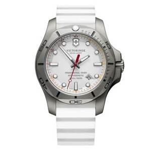 Victorinox Swiss Army Men's Watch I.N.O.X. Professional Diver White Strap 241811