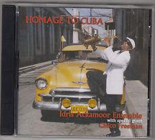 IDRIS ACKAMOOR ENSEMBLE with  CHICO FREEMAN - homage to cuba CD