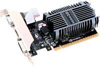Inno3D GeForce GT710, 2GB SDDR3 64bit, HDMI, DVI, PCI-E mit CUDA, passiv