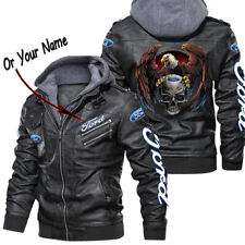 For - LEATHER JACKET,BEST GIFT,NEW JACKET