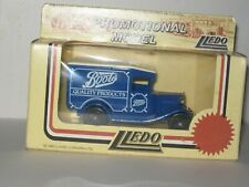 LLEDO DIE CAST BOOTS PROMOTIONAL MODEL VAN COMPLETE  WITH BOX